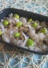 白だしで簡単 塩昆布枝豆ご飯