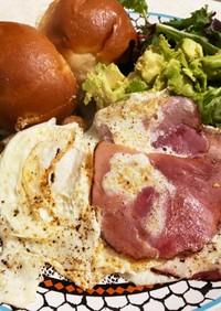 ワンプレート、ワンフライパン朝食
