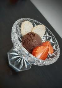 卵・生クリーム不使用 チョコアイス