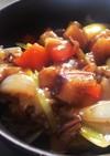 わたしの☆豚バラと残り野菜の中華風炒め