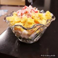 きゅうりの簡単彩りサラダ☆おつまみにも