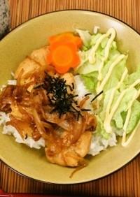 鶏の照り焼き丼(透析食)