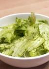 超簡単レタスと青のりor あおさのサラダ