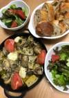 牡蠣とキノコのアヒージョ