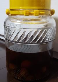 竹鶴ウィスキー梅酒