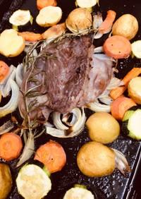 塩麹豚のオーブン焼き