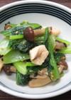 小松菜ときのこの和風サラダ