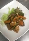 牛肉と厚揚げの中華炒め