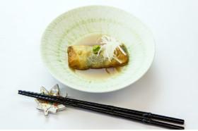 【米粉】米粉でもっちり湯葉巻き胡麻豆腐