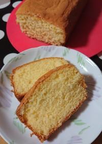材料4つで☆節約パウンドケーキ