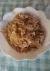 豚バラ肉で生姜焼き♡