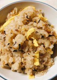 ひじき煮リメイク 混ぜご飯