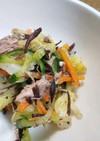 ひじきとツナの栄養満点サラダ