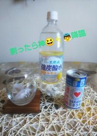 神飲料発見DAKARAレモンソーダ