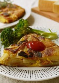 簡単♪スパニッシュオムレツ(チーズ入り)