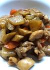 鶏ゴボウ大根炒め煮