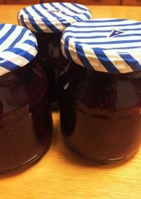 イチゴとブルーベリーのダブルベリージャム