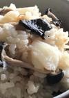 平茸と長いもの炊き込みご飯