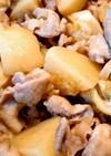 豚肉とじゃがいもの味噌バター炒め