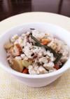 水煮&冷ご飯で簡単☆山菜混ぜご飯。