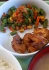 マーマレードチキン 保育園の給食