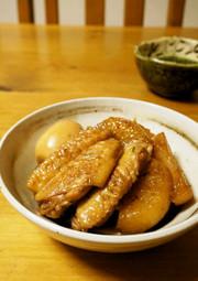 おふくろの味☆手羽先と大根の煮物の写真