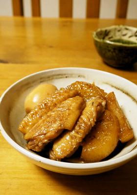 おふくろの味☆手羽先と大根の煮物