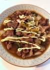 白菜と豚コマのオイスター煮