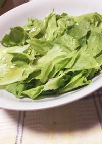 レタスだけ!美味しいレタスサラダ♪