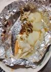 サケと舞茸のホイル焼き