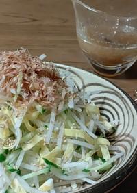 大根と錦糸卵の和風なサラダ