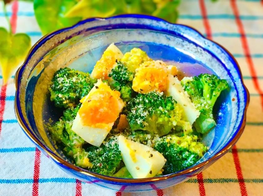 ブロッコリーとゆで卵の☆デリ風サラダ