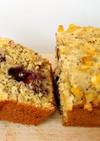 ブルーベリーレモンパウンドケーキ