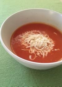 とろ~りチーズのトマトスープ☆トルコ