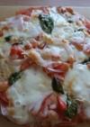 有機米粉で使った豆腐ピザマルゲリータ風