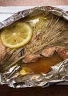 ヘルシオで簡単。鮭のホイル焼き