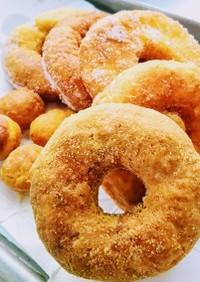 簡単☆小麦粉でドーナツ!