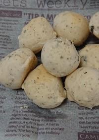 休校レシピ31  簡単生バジルパン
