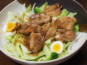 にんにく鶏肉のポン酢サラダ