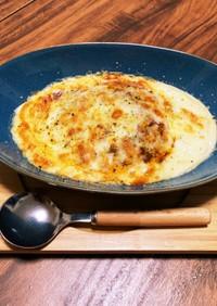 豆乳入りおぼろ豆腐のダイエット中グラタン