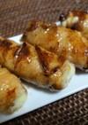 豚バラの餅チーズ巻き