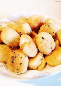 簡単過ぎる☆小麦粉で作る豆腐ドーナツ☆