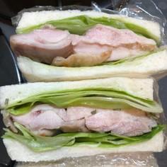 グリルチキンサンドイッチ