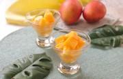 丸ごとマンゴーシャーベットの写真