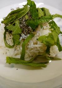 ✨大葉とゴマの混ぜ寿司♥