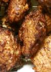トリ胸肉のミンチ揚げ