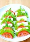 木綿豆腐とトマトのカプレーゼ