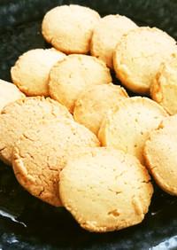 バニラビーンズを入れて、米粉クッキー