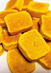 しっとり♪南瓜の米粉クッキー