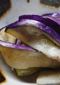 速攻調理 フライパンで鮮やか蒸しナス